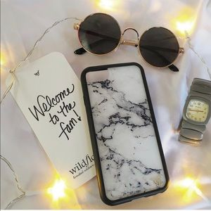 Wildflower Marble iPhone Case